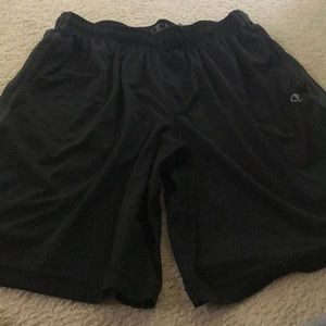 Champion Athletic shorts.